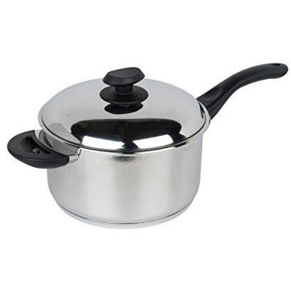 PENDEFORD : Supreme collection 22cm Stainless Steel Sauce Pan