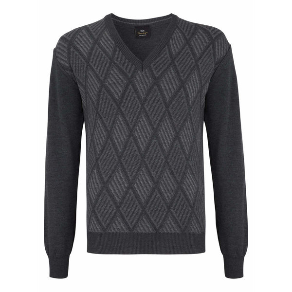 DANIEL GRAHAME :  Prestige V-Neck Sweater