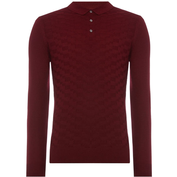 REMUS UOMO : Long Sleeve Slim Fit Sweater