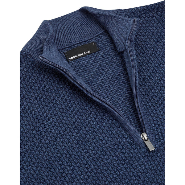 REMUS UOMO  :  Half Zip Sweater