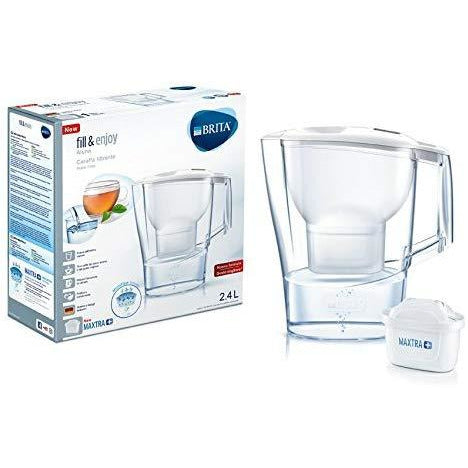 BRITA : Aluna Cool White Water Filter Jug with Maxtra, Bianco