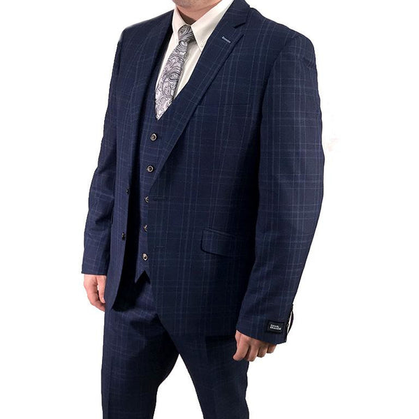 DANIEL GRAHAME : Dale Blue 3-Piece Suit