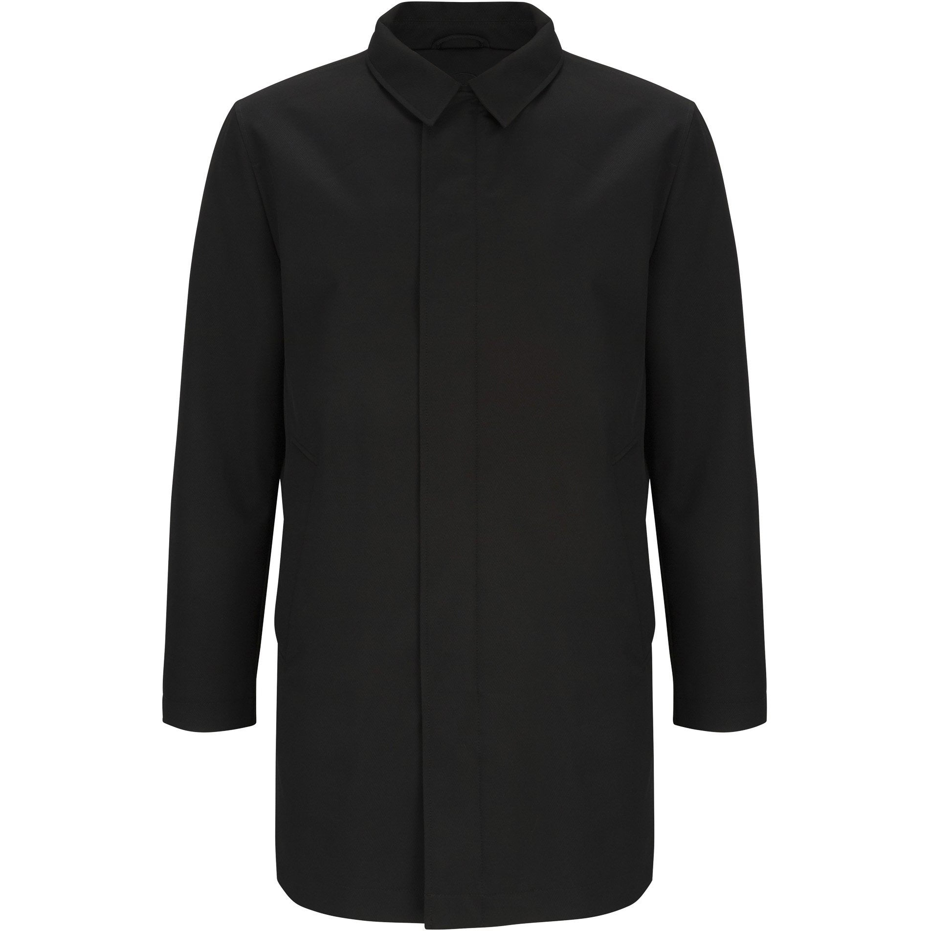 DOUGLAS & GRAHAME : Black Hayward Casual Coat