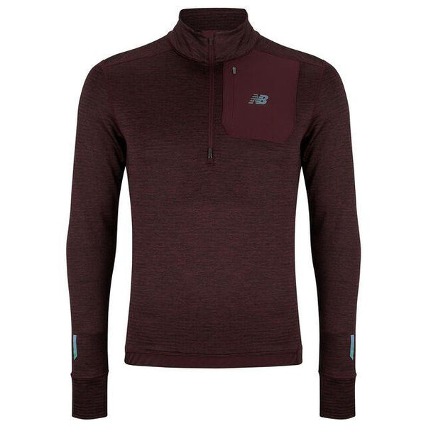 NEW BALANCE : Men's Heat Quarter Zip Top