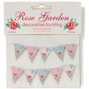 Rose Garden Decorative Bunting