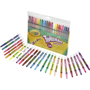 CRAYOLA : 24 Twistable crayons