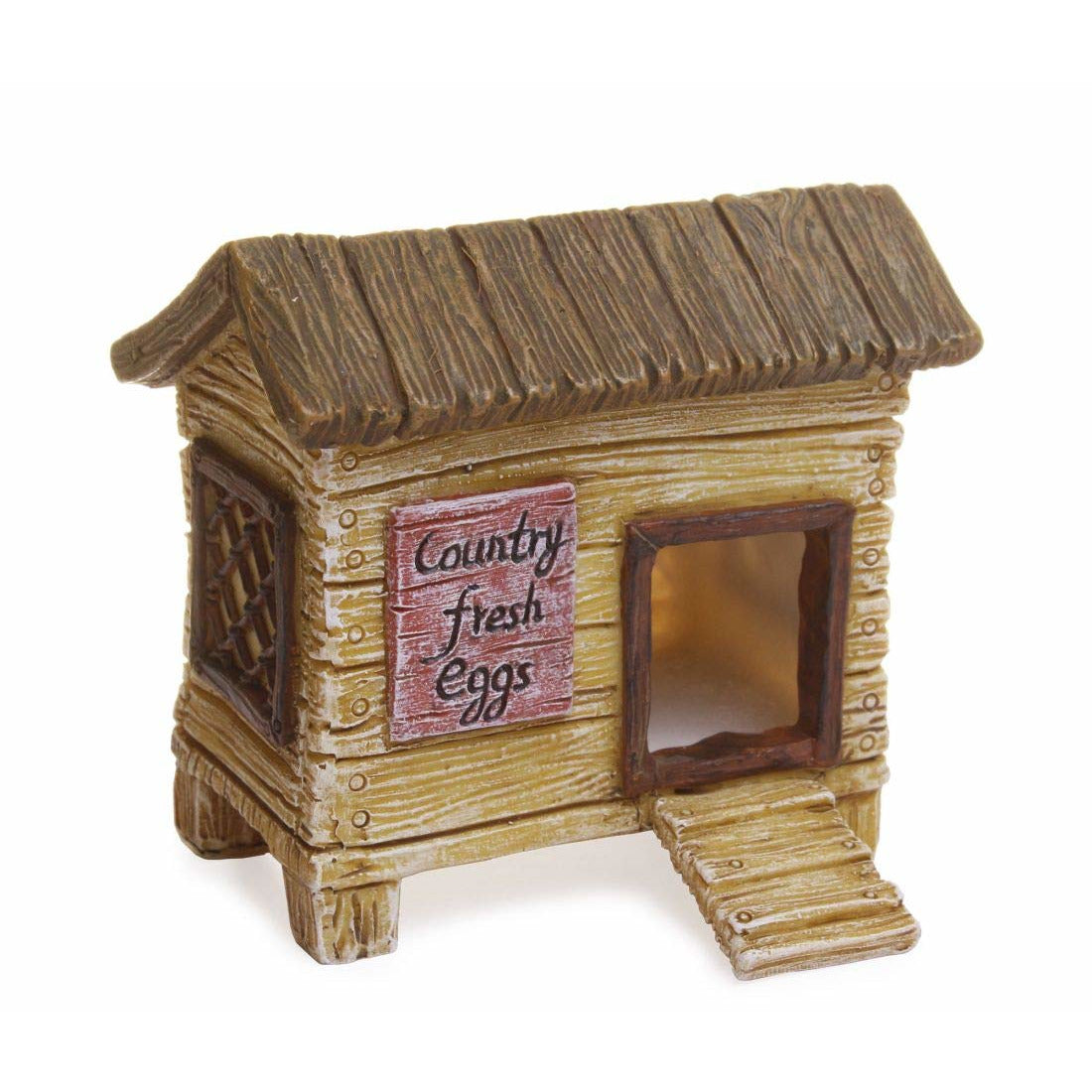 Fairy Garden Chicken Coop