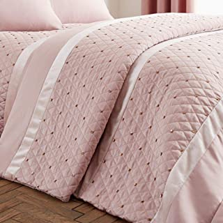 CATHERINE LANSFIELD : Sequin Cluster Bedspread - Blush