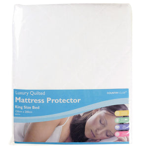 COUNTRY CLUB : Luxury Quilted Mattress Protector Kingsize