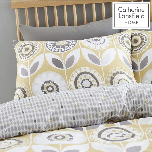 CATHERINE LANSFIELD : Annika Easy Care Duvet Set
