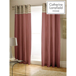 CATHERINE LANSFIELD : Kashmir Curtain Set 66 X 72