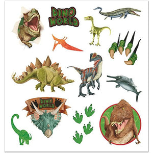 DINO WORLD : Tattoo sheets