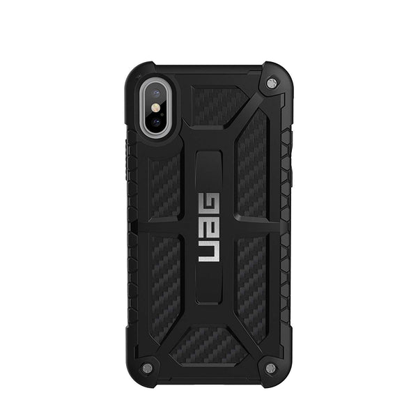 UAG Monarch Case For iPhone X - Carbon Fibre