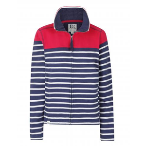 LAZY JACKS : Panel Stripe Full Zip