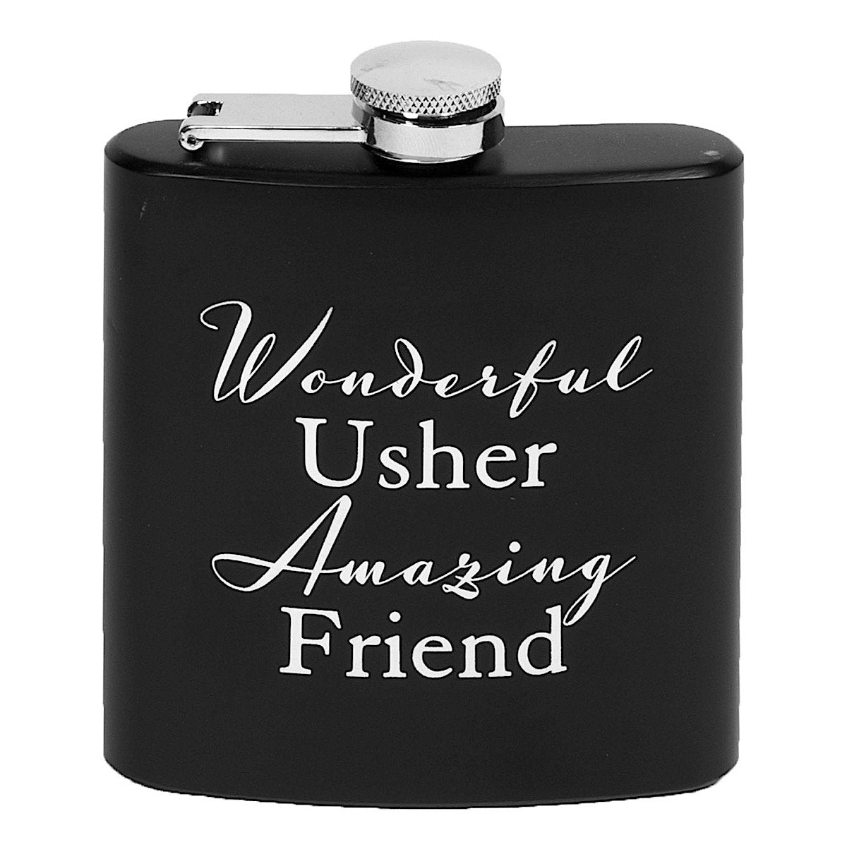 AMORE : Wonderful Usher Hip Flask