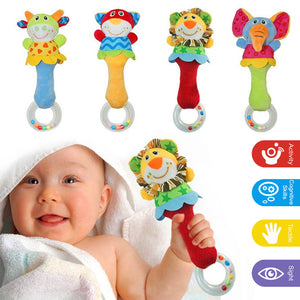 BABY BABY : Rattle with Teething Ring