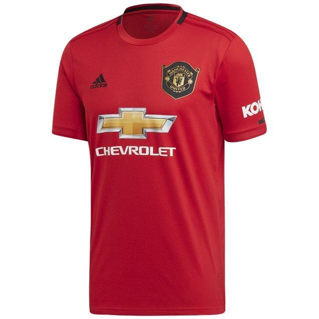 ADIDAS : Adults Manchester United Home Jersey 19/20