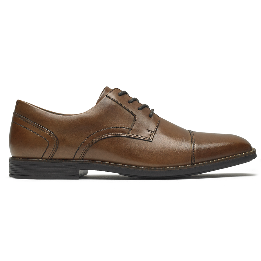 ROCKPORT : Slayter cap toe blucher oxford