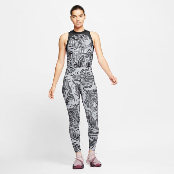 Nike One - Women's Printed Mid-Rise 7/8 Tights