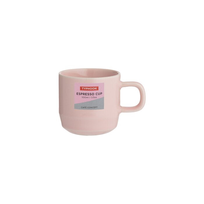 Typhoon : Cafe Concept Espresso 100ml cup pink
