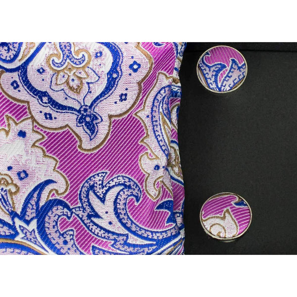 HOUSE OF CAVANI : No.09 Tie Gift Set Pink Flower