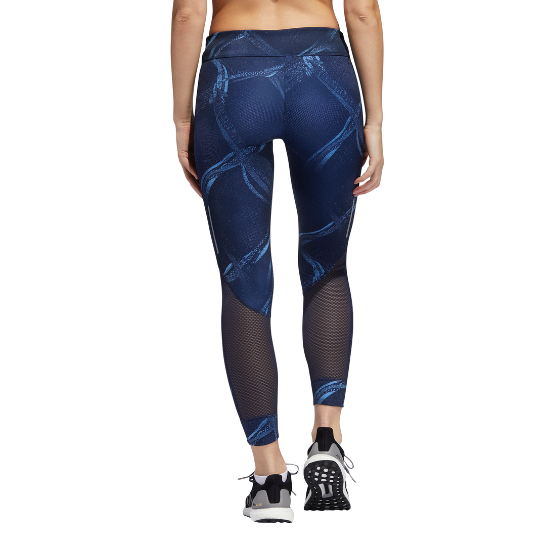ADIDAS : Women's Own the Run 7/8 Leggings Blue