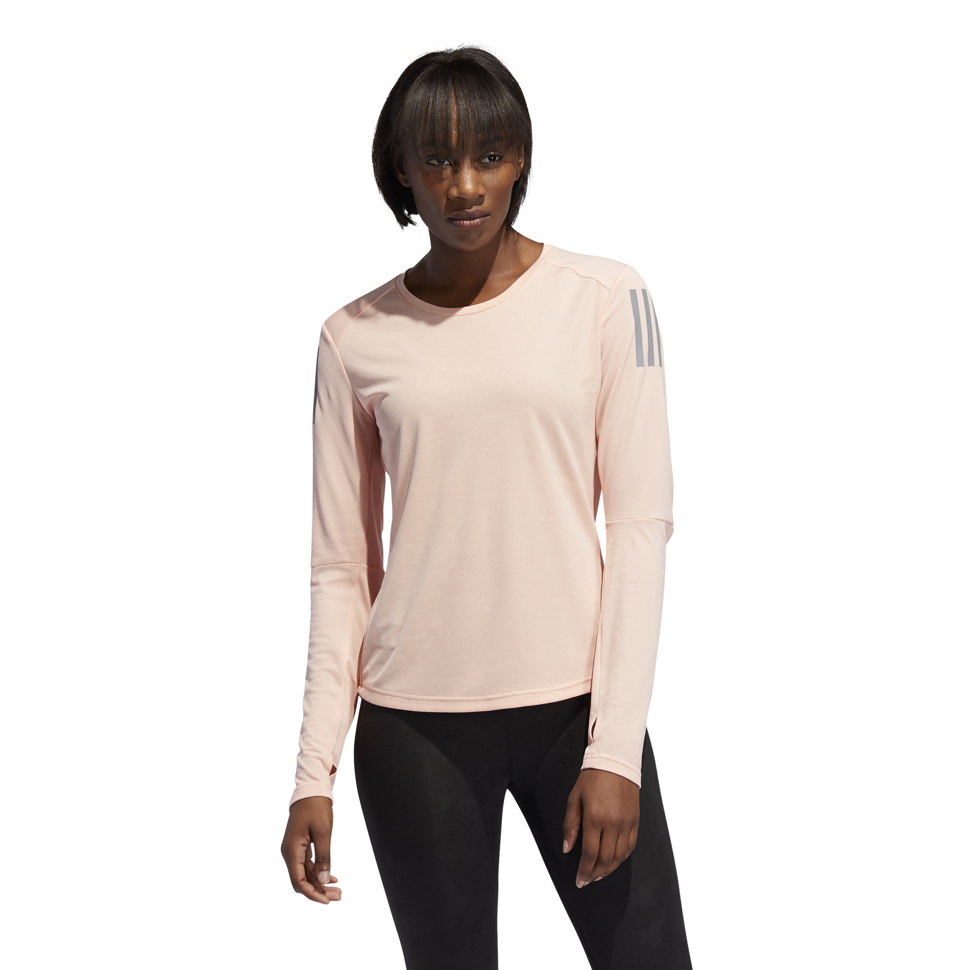 ADIDAS : Own The Run Long Sleeve Top
