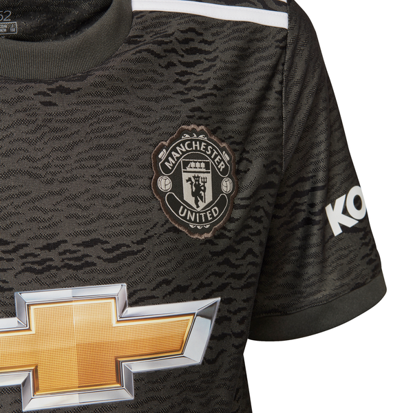 ADIDAS : Kids Manchester United Away Jersey 20/21