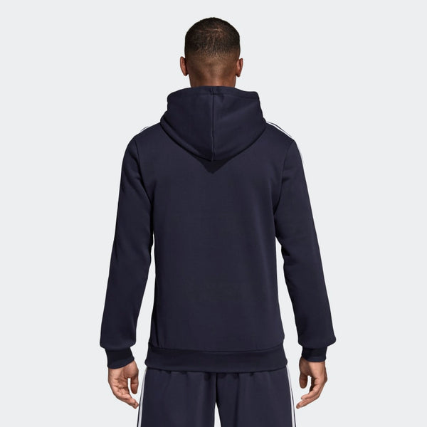 ADIDAS : Essentials 3-Stripes Pullover Hoodie