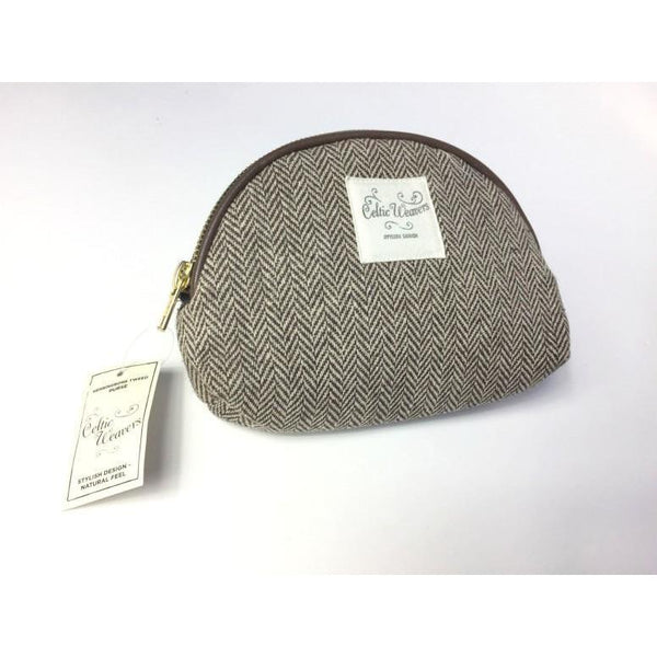 SAMUEL & LAMONT : Herringbone Tweed Purse
