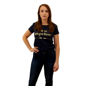 COPE CLOTHING : Cotton T-Shirt Navy