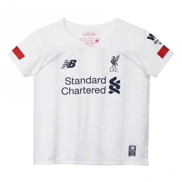 new concept f88b9 e62f7 NEW BALANCE : Kids Liverpool Away Kit 19/20 | The Cope