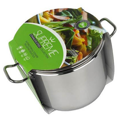 PENDEFORD : Supreme collection 24cm Stainless Steel Stock Pot