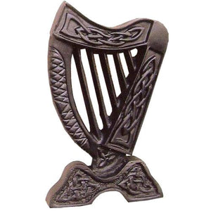 ISLAND TURF CRAFTS :  Small Irish Harp Wall Hanging
