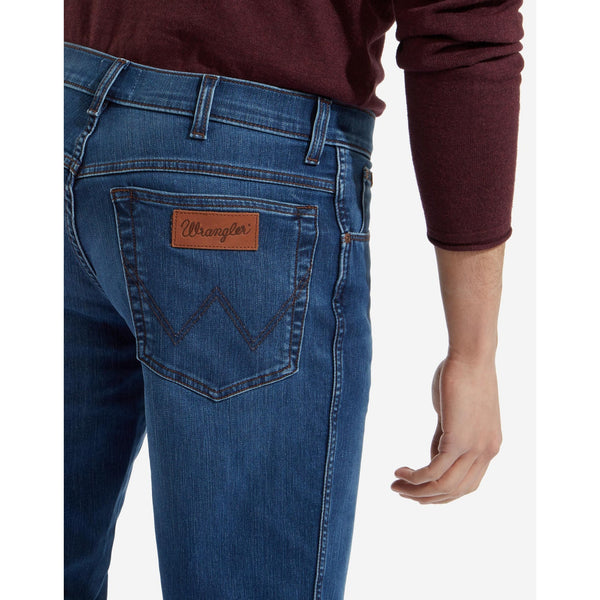 WRANGLER : Original Straight Fuzzy Fix Texas Jean