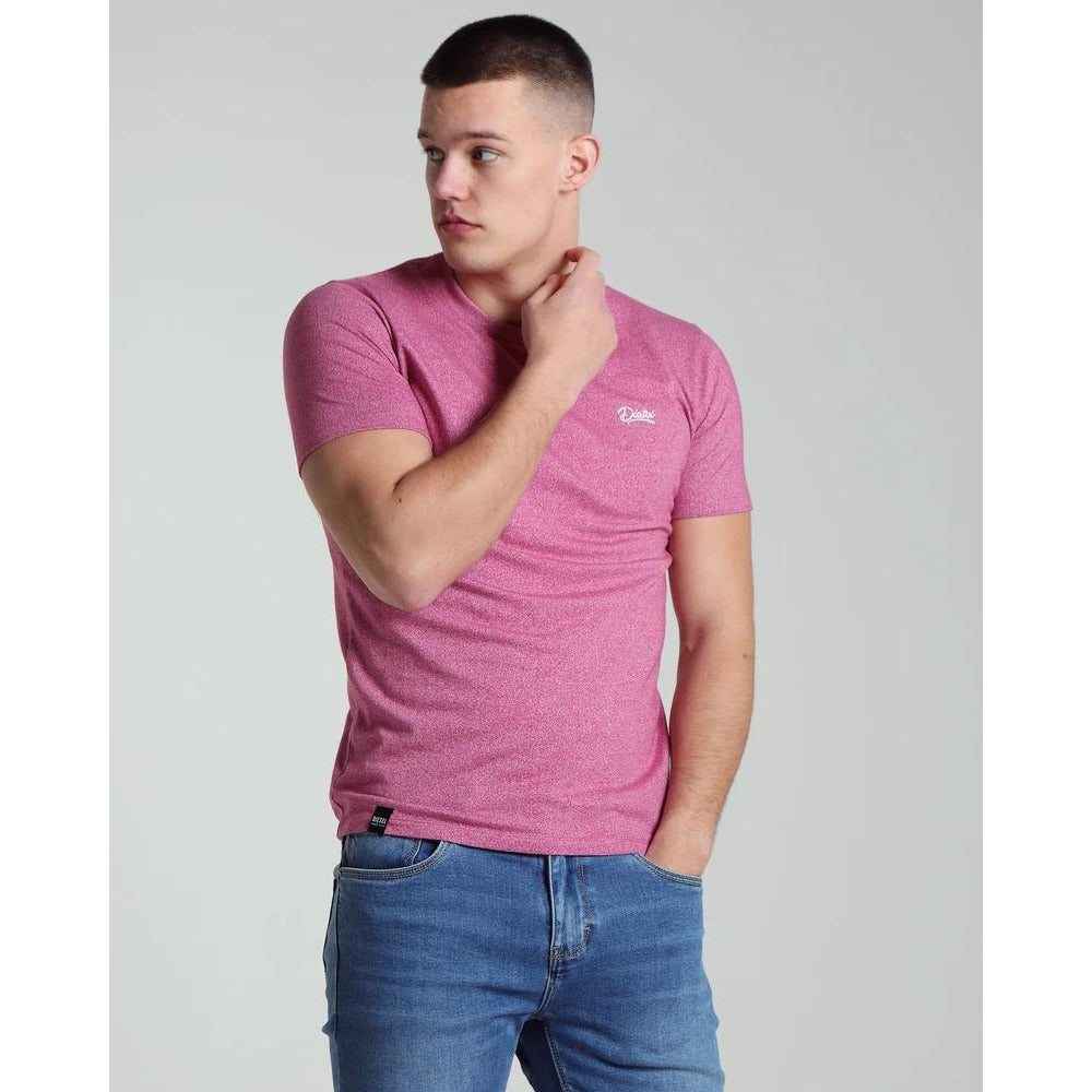 DIESEL : Basic Matt T-Shirt Magenta Haze