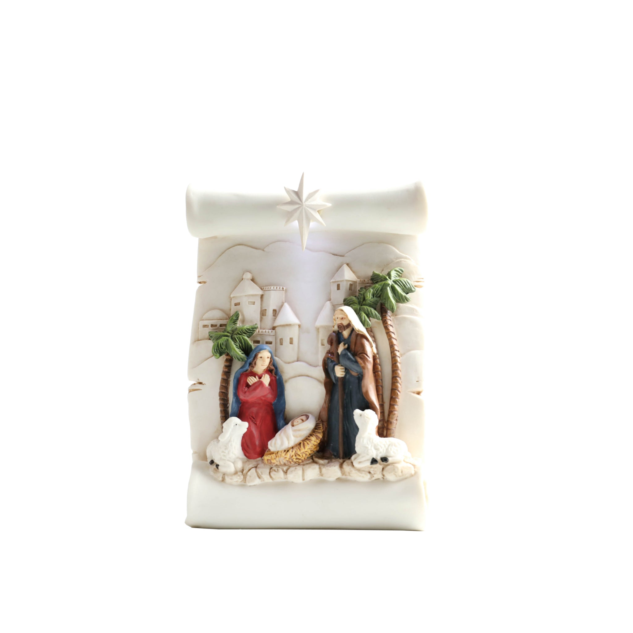Christmas Scroll Nativity