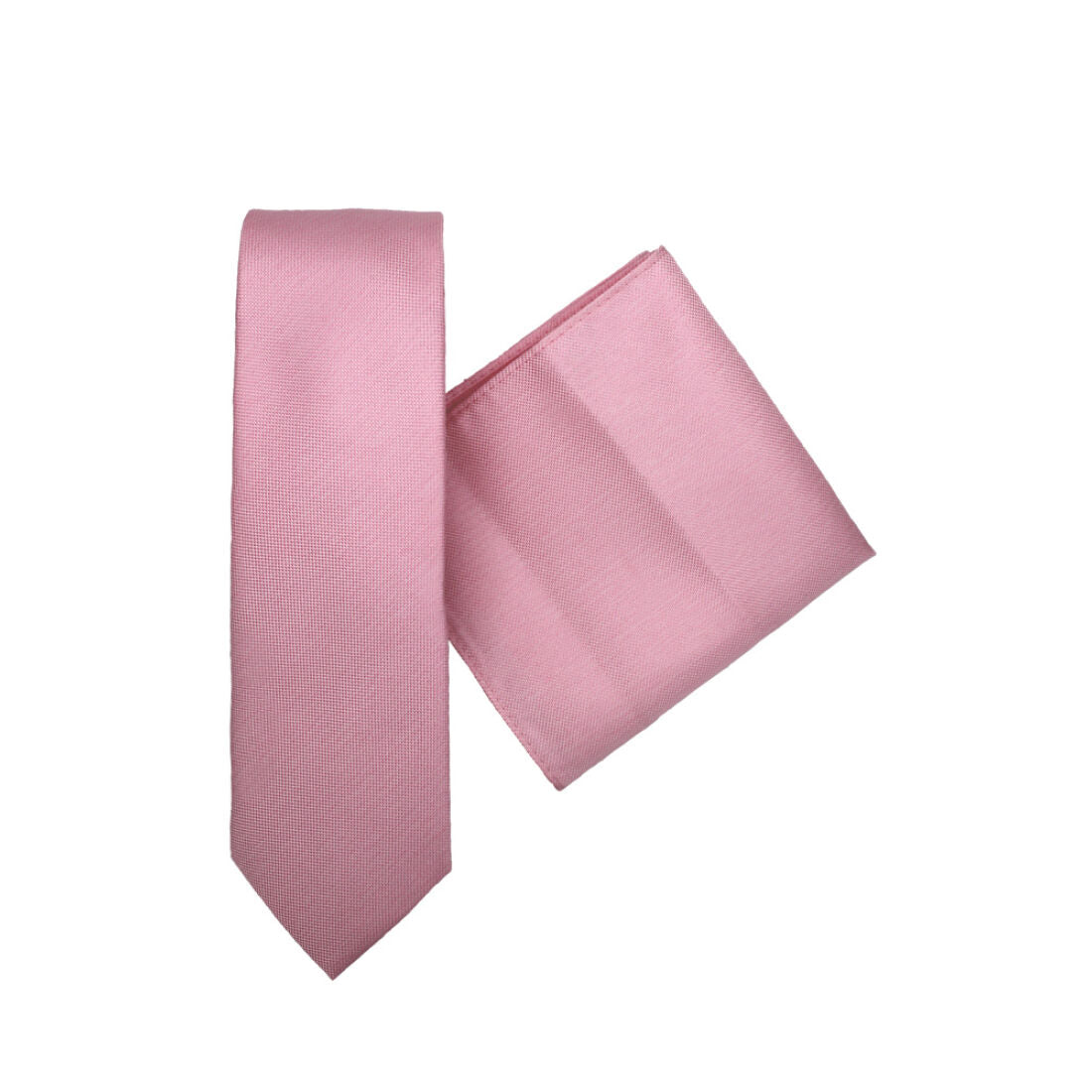 L.A. SMITH :  Plain Pink Deco Polly & Handkerchief Set