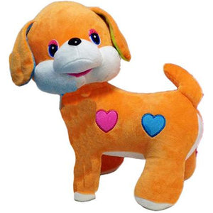 BABY BABY : Velour Plush Dog Toy