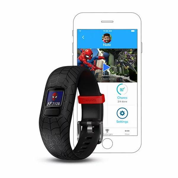 GARMIN : VivoSmart Jr 2 Spider-Man Black