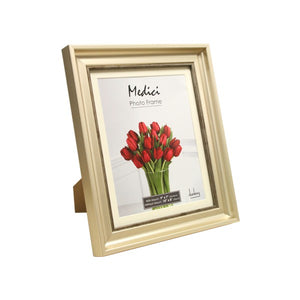 MEDICI : Champagne A4  Photo Frame with Mount