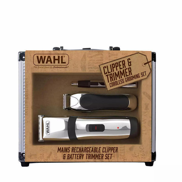 WAHL : Clipper and Trimmer Cordless Grooming Set