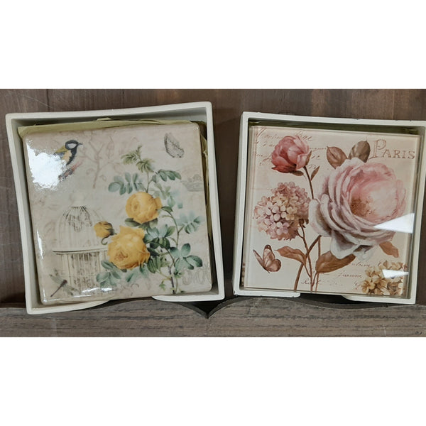 TWO,S COMPANY :  Vintage Coasters
