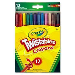 CRAYOLA : 12 Twistable crayons
