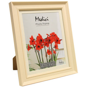 MEDICI : Cream 7X5 Photo Frame with Mount