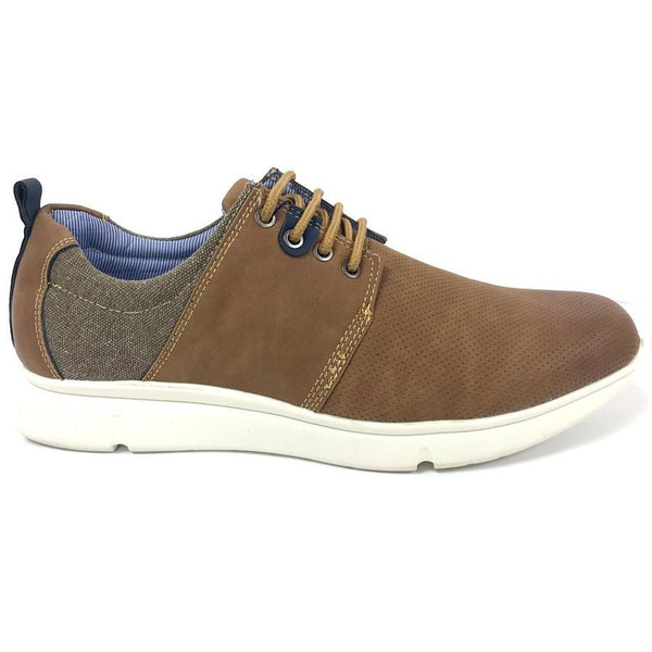 MORGAN & CO : Lace Up Shoe Tan
