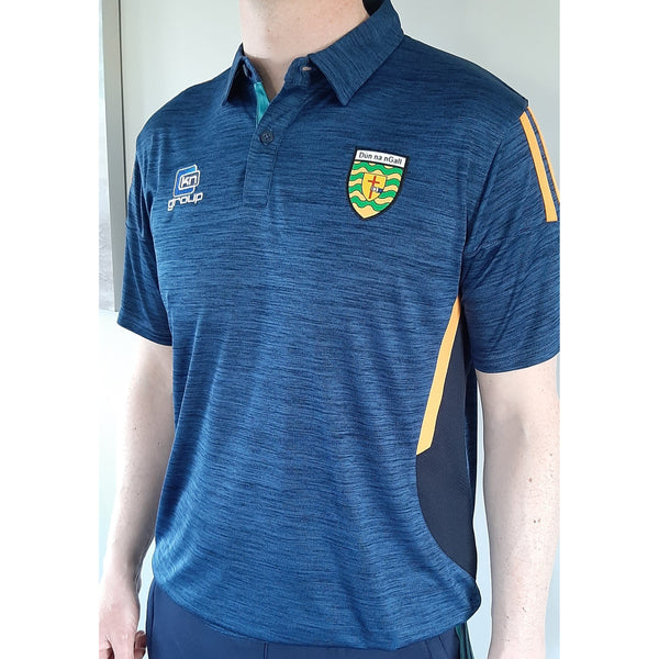 O'NEILLS: Men's Donegal GAA Raven 061 Polo shirt