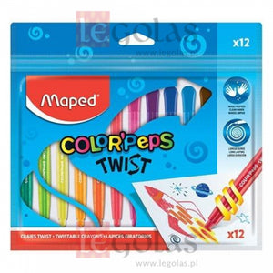 MAPED : 12 pack colour twists