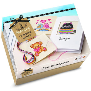 HOUSE OF CRAFT : Cross stitch card kit