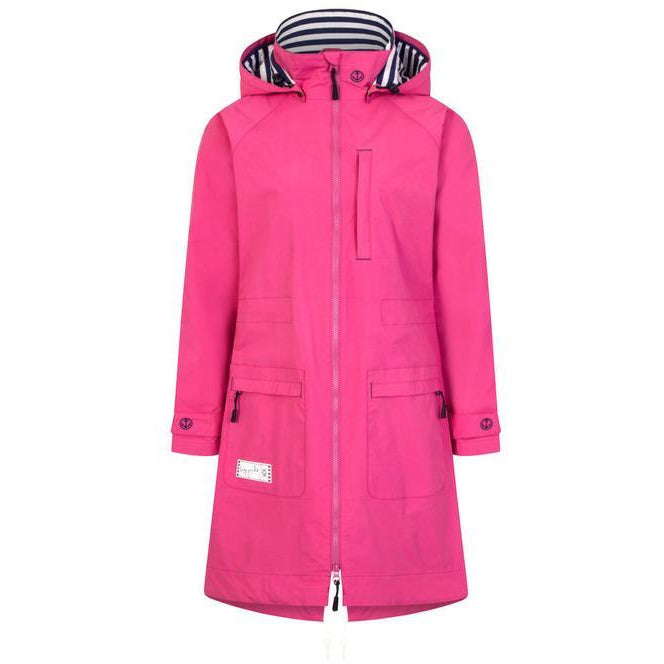 LAZY JACKS : Parka Style Long Raincoat